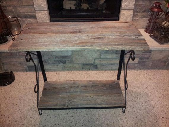 Hey, I found this really awesome Etsy listing at https://www.etsy.com/listing/184921992/reclaimed-barn-wood-and-wrought-iron