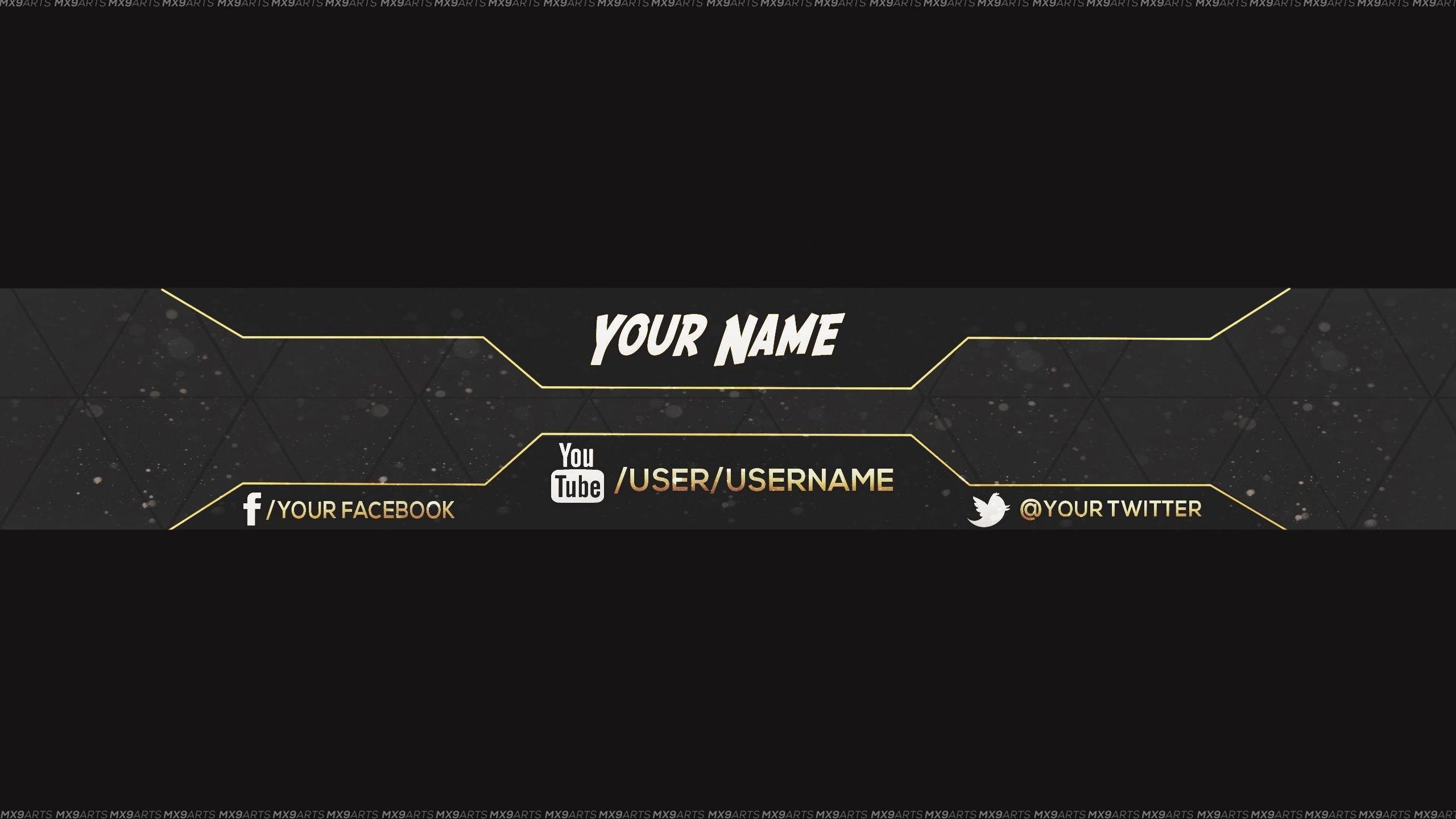 Res 2560x1440 Reupload Free Amazing Youtube Channel Banner Template 5 Dir 2560x1440 Ama En 2020 Portada De Youtube Cabeceras Para Youtube Fotos Para Youtube