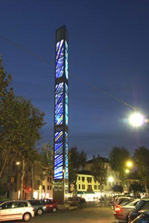 Cell Tower As Sculptural Art Antenas Antenas De
