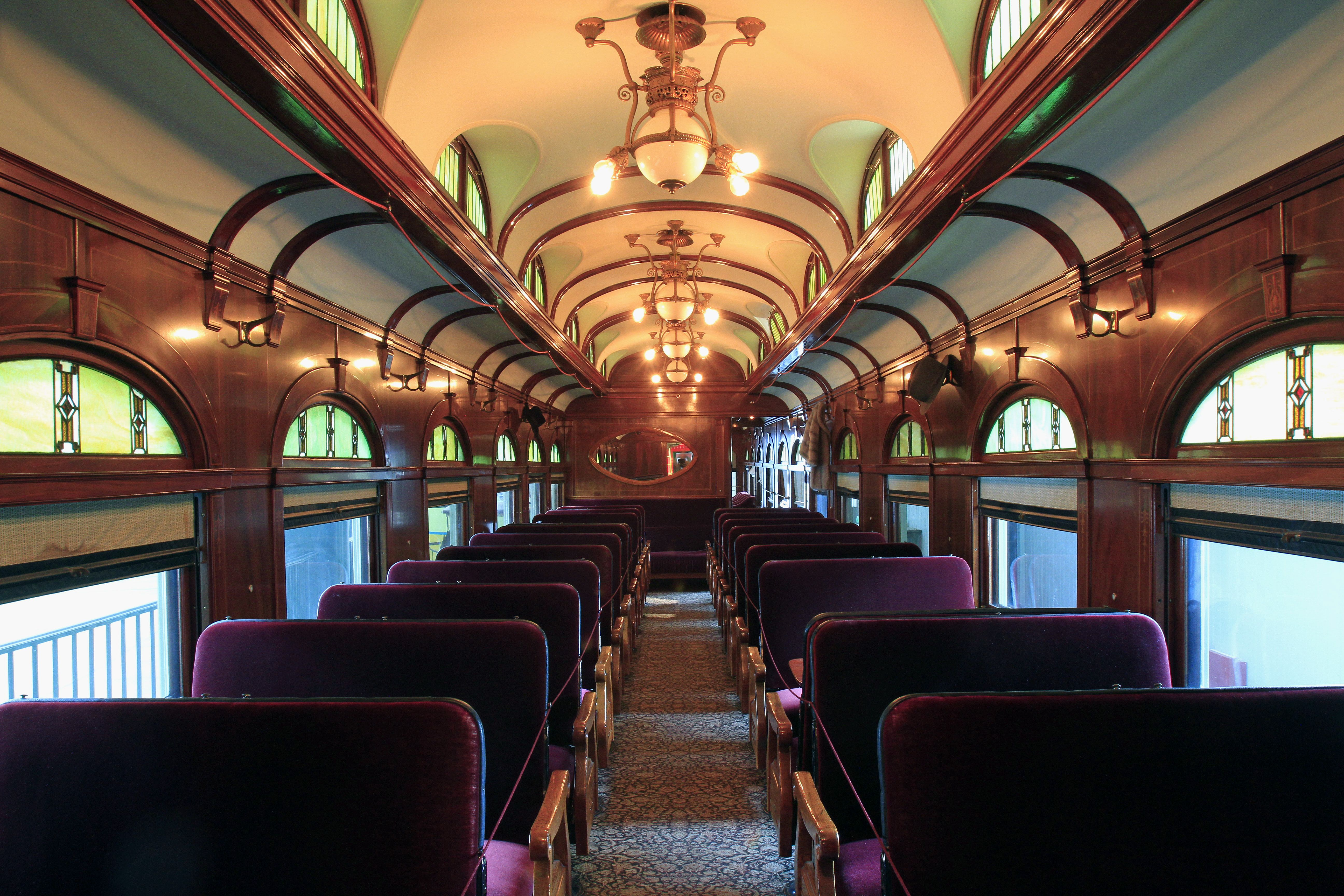 Barney & Smith rail car in The James F. Dicke Family