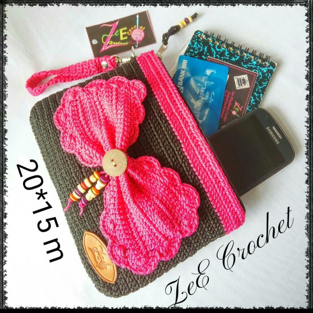 Zee crochet carteras y bolsos pinterest accesorios de crochet