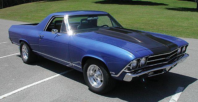 1969 Chevrolet El Camino For Sale Dandridge Tennessee Chevrolet El Camino El Camino Chevrolet