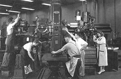 Quot Staff In The Machine Shop Quot Circa 1950 S Naca Now Nasa