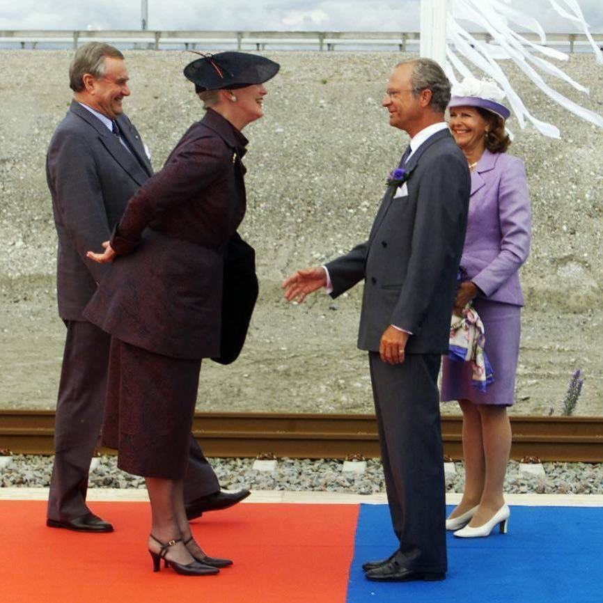 Happy Birthday King Carl Gustav 🎉 (with Queen Margrethe