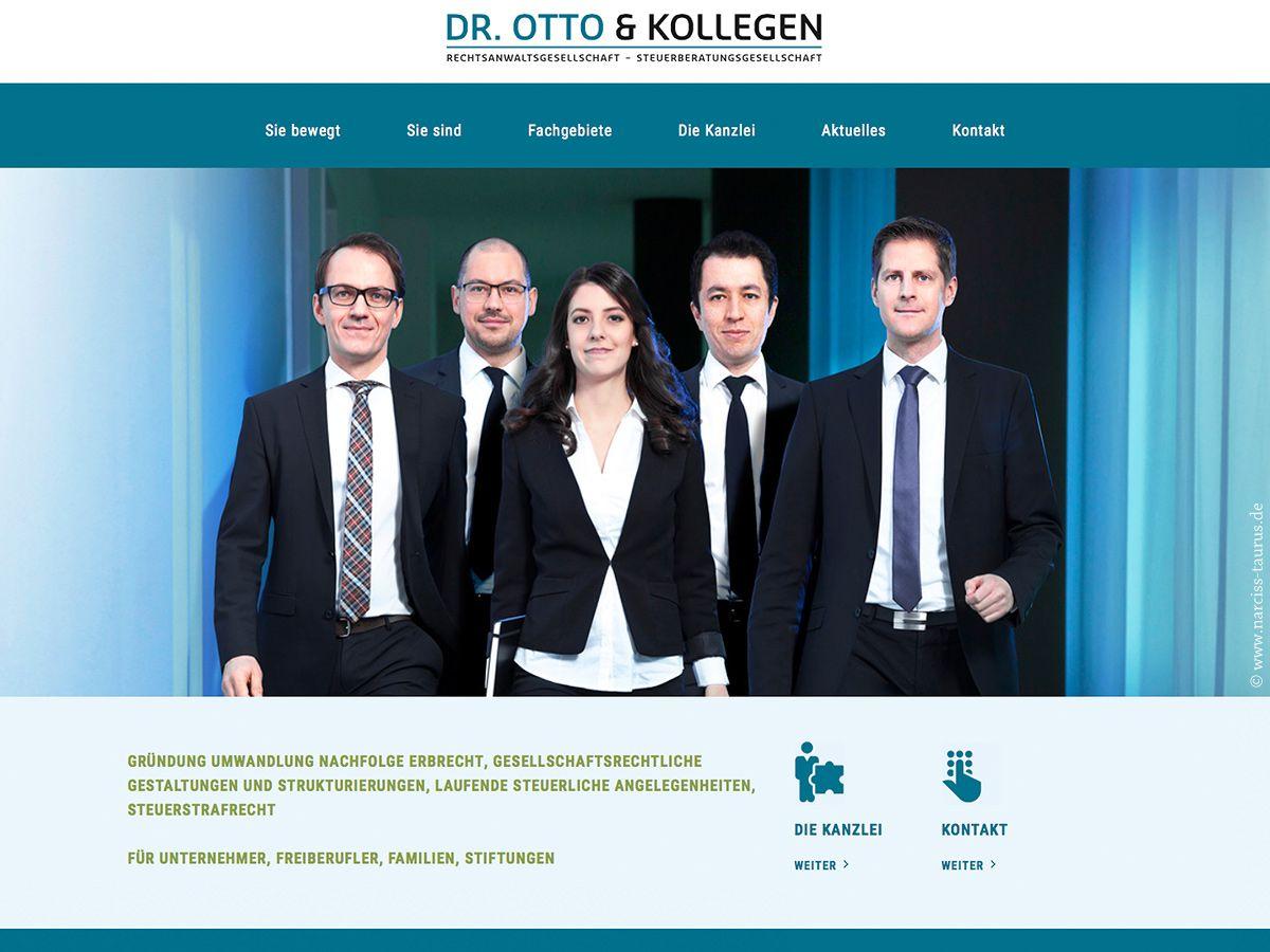 website for OTTO & KOLLEGEN, München www.otto-kollegen.com | programming by Steve Brauer, photography by Christian Lorenz