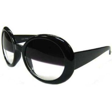 Sunglasses with half tint lenses!