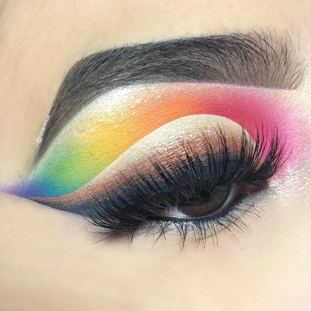 James Charles Morphe Palette Rainbow Eyeshadow Bold Eye Makeup