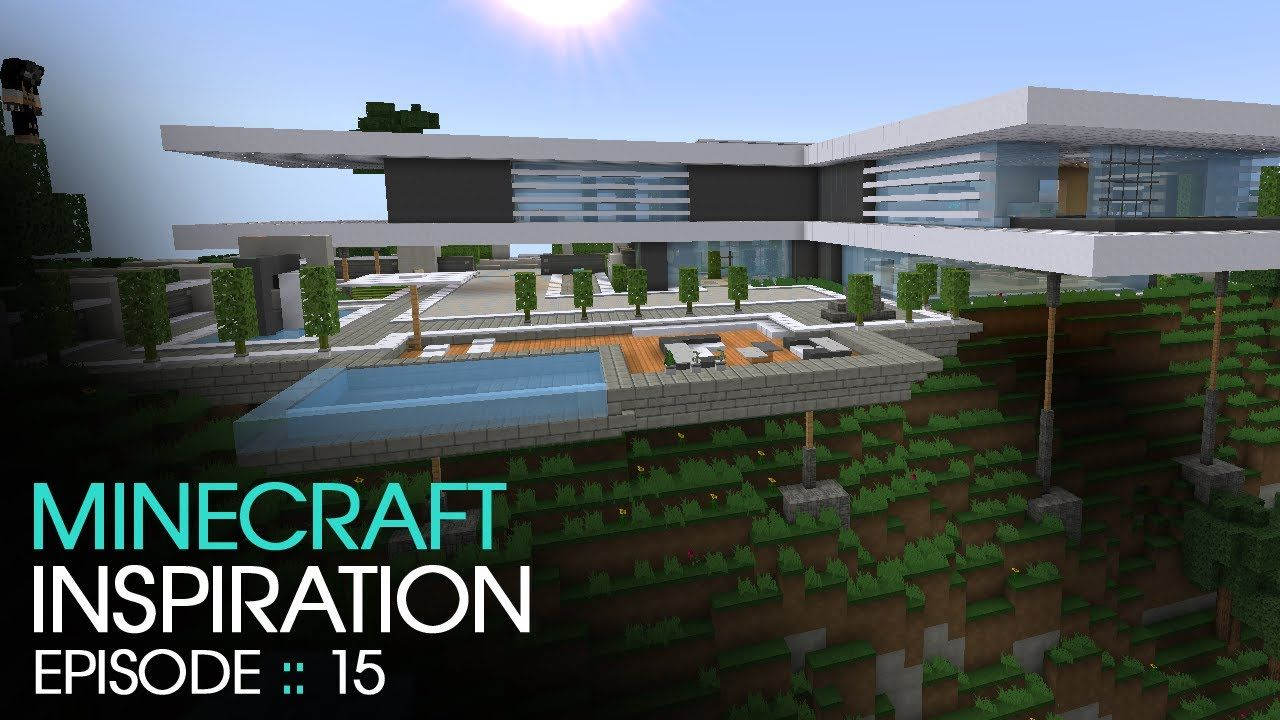 Minecraft Modern Mountain House Inspiration W
