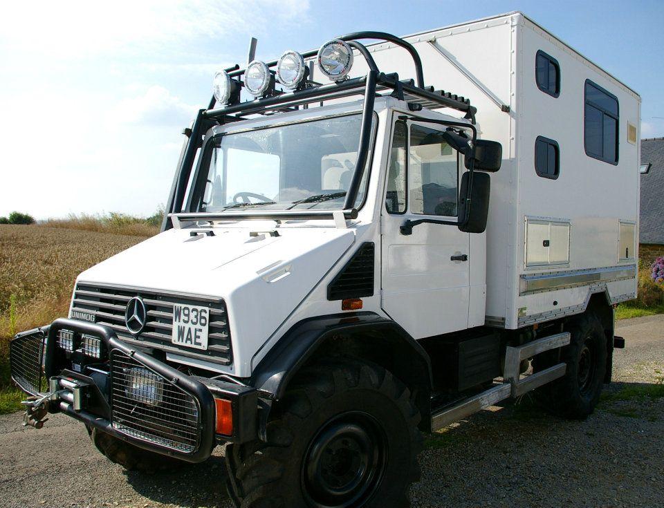 2000 Unimog U1400l Camper Expedition Truck Outback Campers