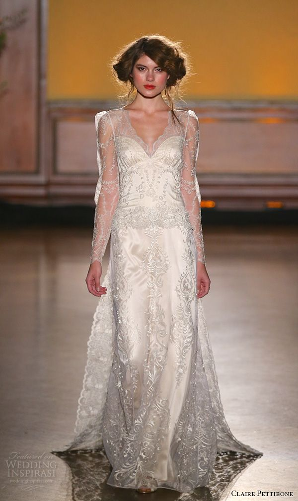 Claire Pettibone Fall 2016 Wedding Dresses — The Gilded Age Couture ...