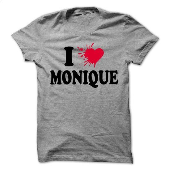 I love MONIQUE - 99 Cool Name Shirt ! - #long shirt #american eagle hoodie. CHECK PRICE => https://www.sunfrog.com/LifeStyle/I-love-MONIQUE--99-Cool-Name-Shirt-.html?68278