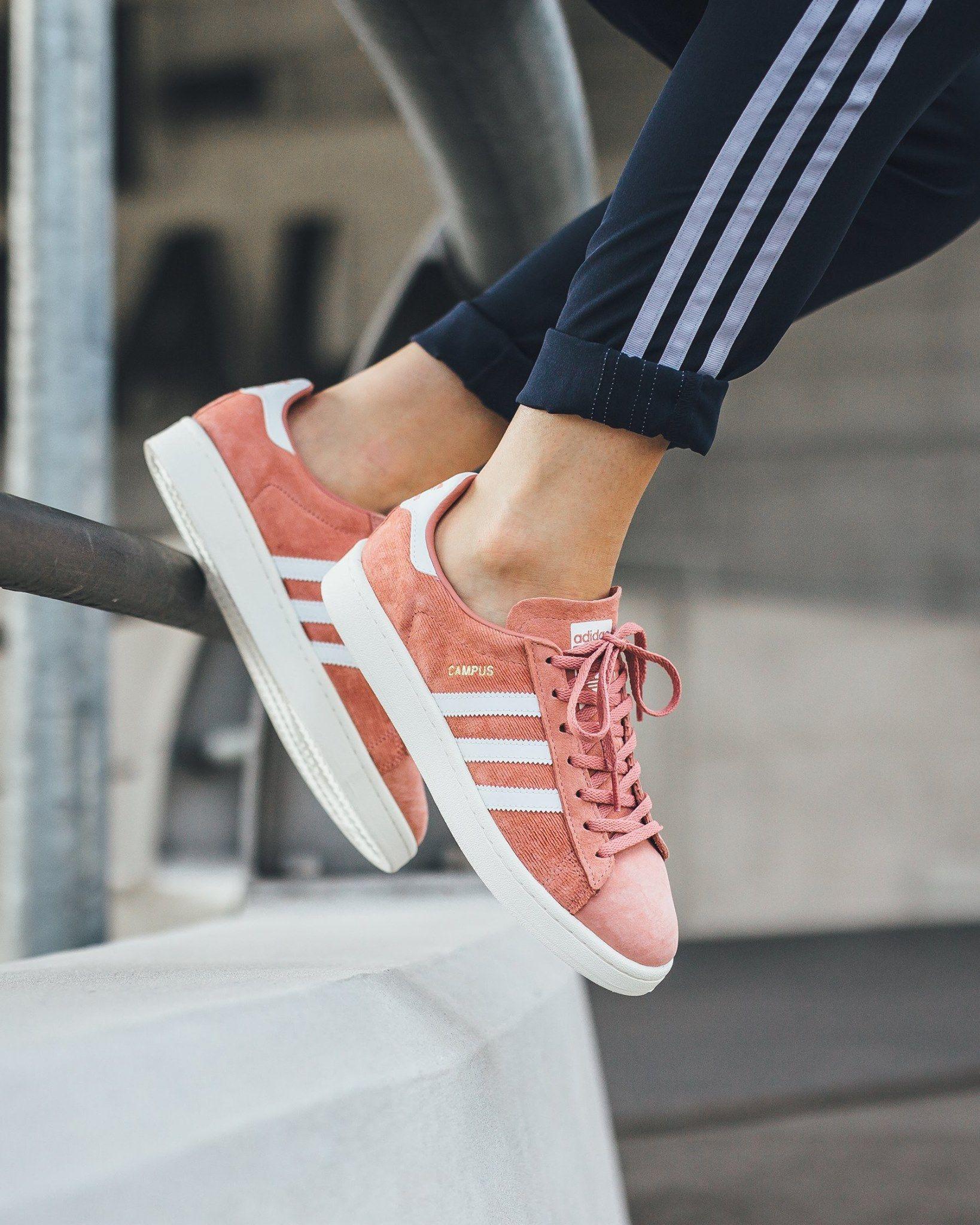 11afcaf9ca raw pink Adidas campus | sneakers | Adidas campus, Pink adidas ...