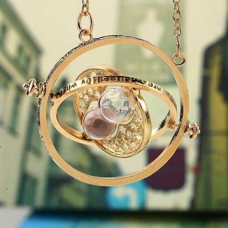 Harry Potter Time-Turner Hourglass Pendant Necklace 18K Gold Plated/Tone https://t.co/5z1elt9Ht5 https://t.co/qkXJ3JneHV
