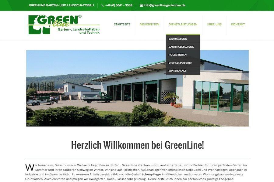 Gartenbau Hannover webdesign alt gegen neu nsere webdesign agentur aus hannover
