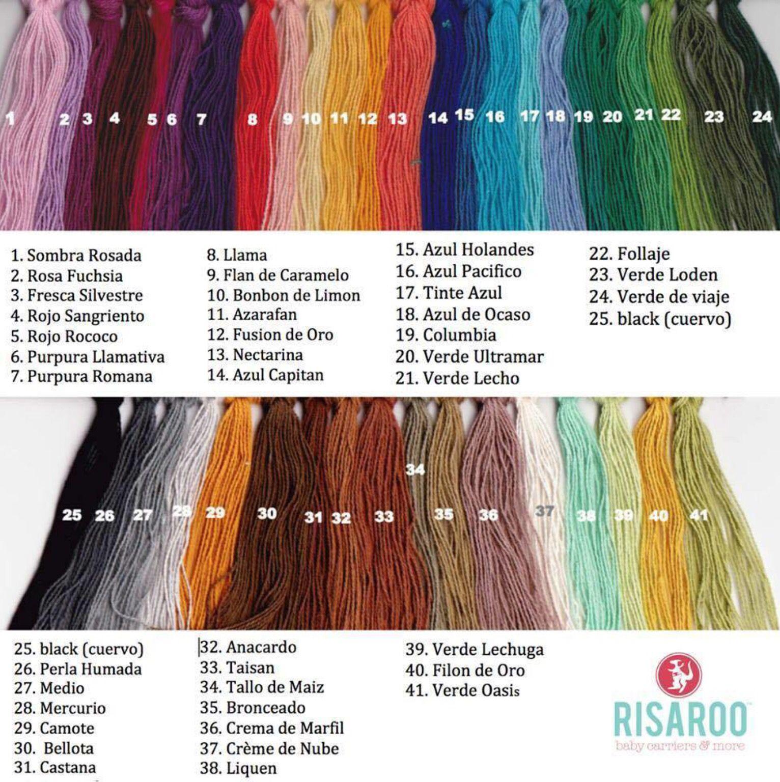 fa4da2fcaf4 Girasol Weft Colors. Girasol Weft Colors Woven Wrap