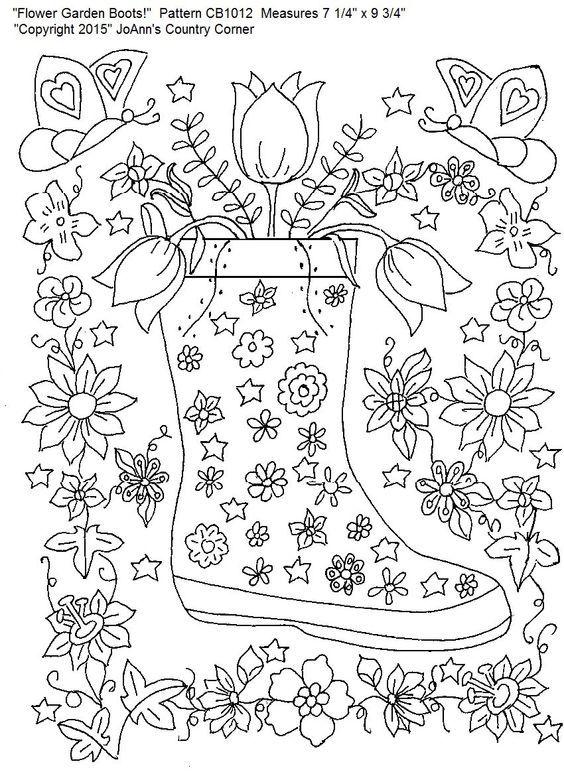 Pin de Barbara en coloring garden   Pinterest