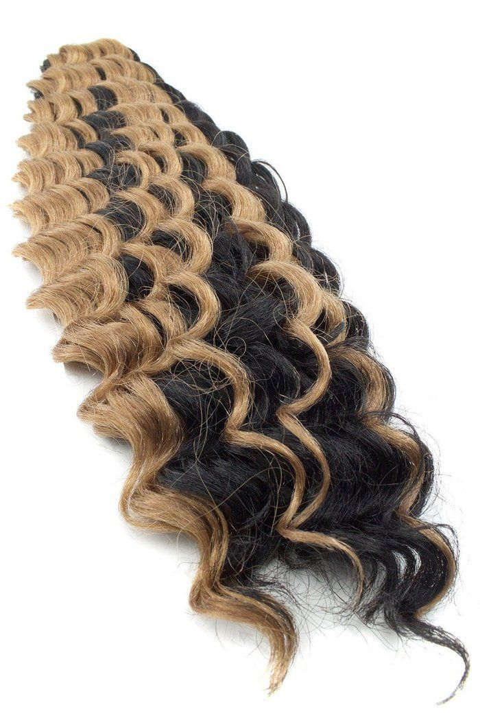 Harlem125 Kima Synthetic Crochet Braiding Hair Ripple Deep #softcurls