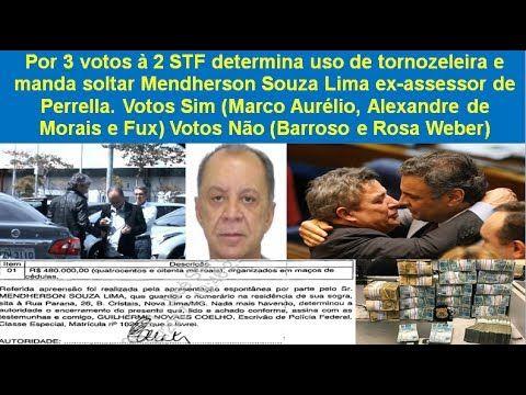 STF determina uso de tornozeleira e manda soltar Mendherson Souza Lima e...