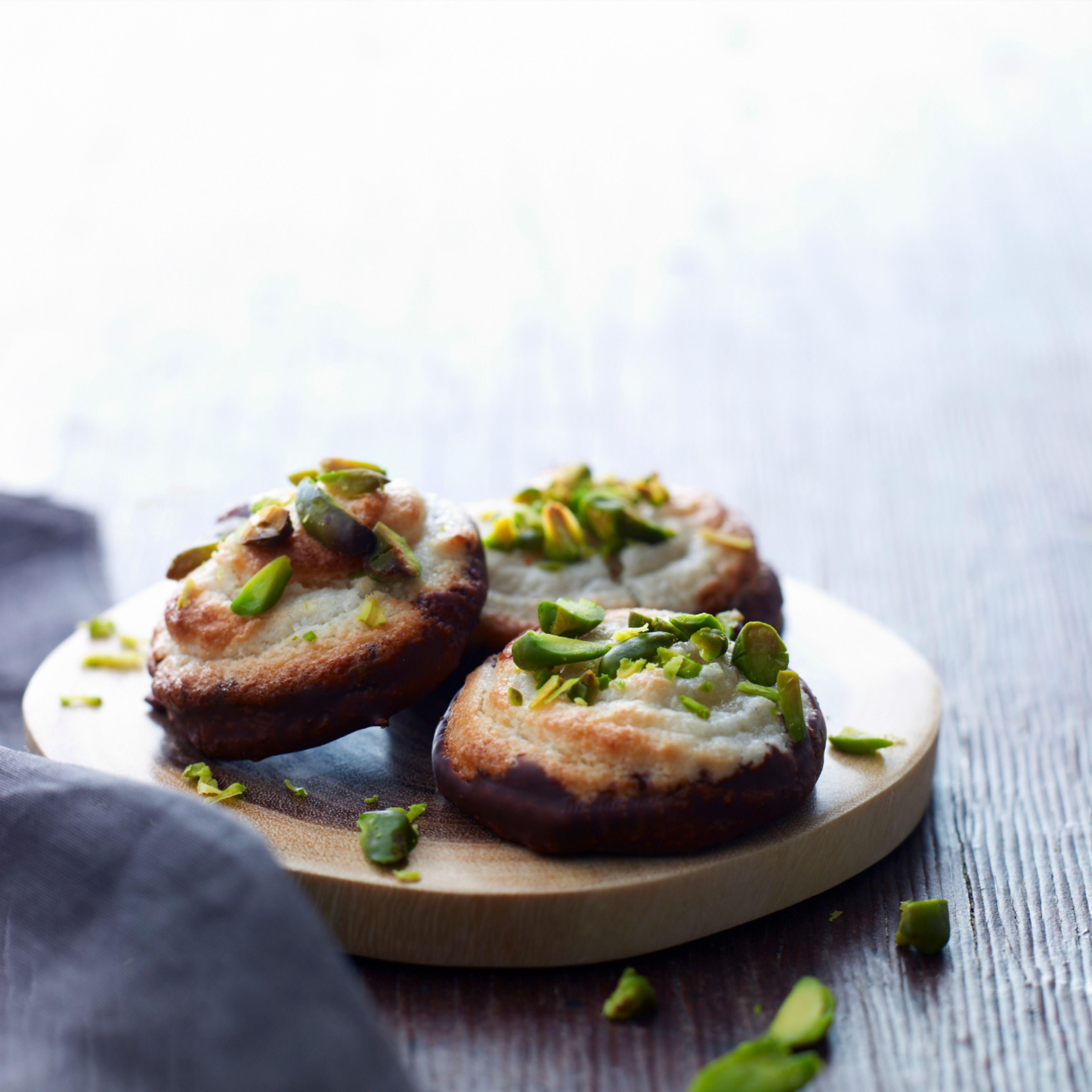 kransekage med pistacie