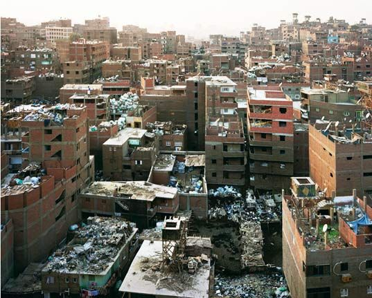 Incredible Garbage City Rises Outside Of Cairo Recycle City Slums Cairo