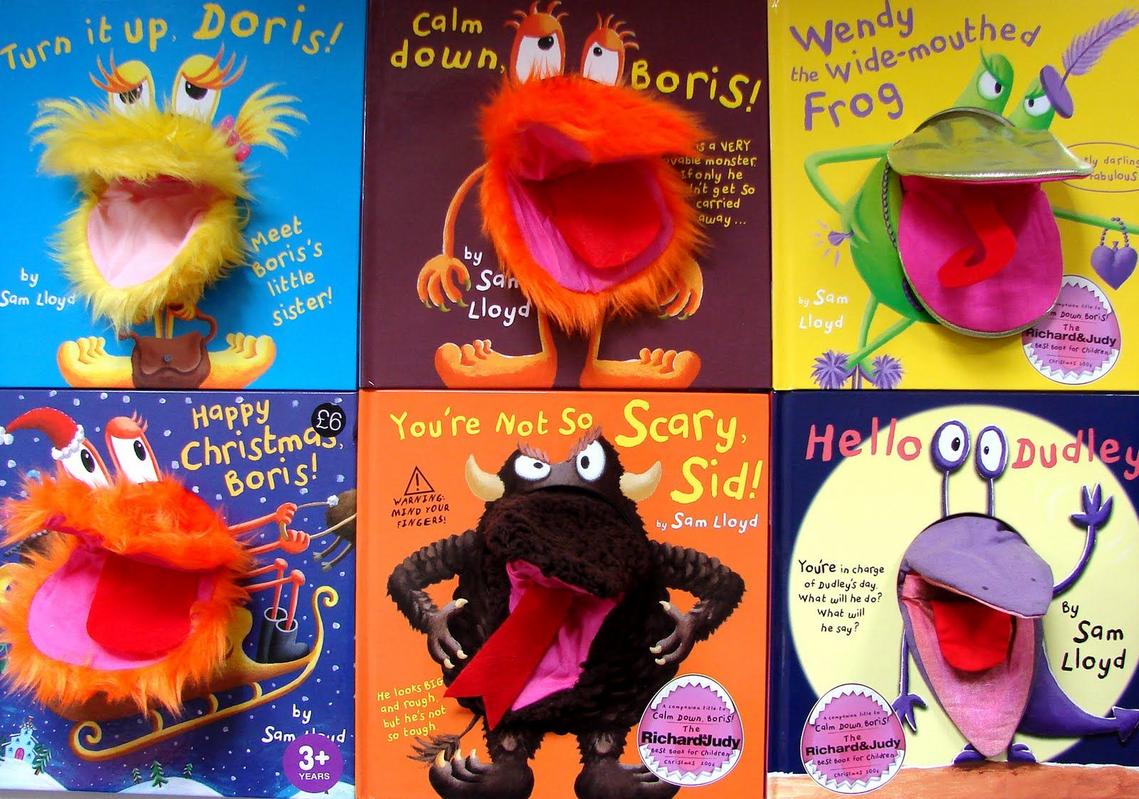 There are books which along side the use of drama and puppets can bring a story to life.