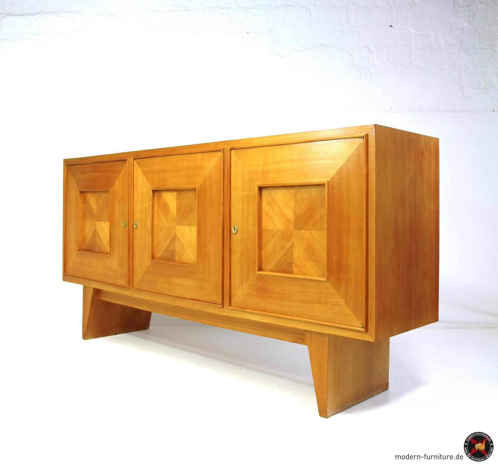 Bahut Art Deco Areaneo Suzanne Guiguichon French Modernist Art Deco Sideboard