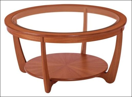 This Beautifully Designed Glass Top Coffee Table Made From Teak Manufactured By Nathan Furniture Is Available At Furniture Village For Ju Glass Wood Coffee Table Round Coffee Table Ikea Round Coffee