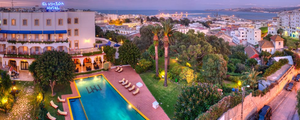 El Minzah Hotel Tangier By Le Royal Hotels And Resorts 185 Night