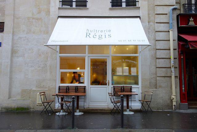 Huîtrerie Régis in Paris by Lauren Michael, via Flickr