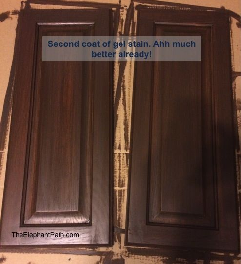 General Finishes Cabinet Makeover Kitchen Pinterest Stains