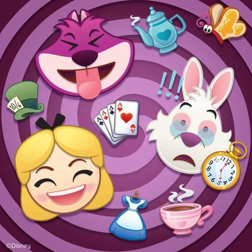 A Wonderland Of Emotion Disney Emoji Alice In