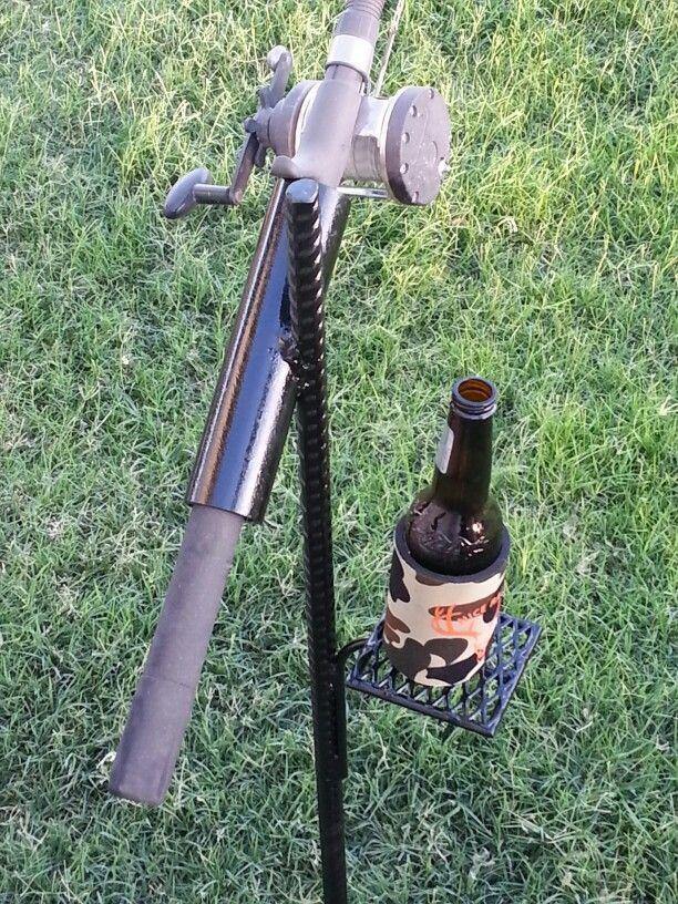 Catfish pole holder fishing pinterest pole holders for Cat fishing pole