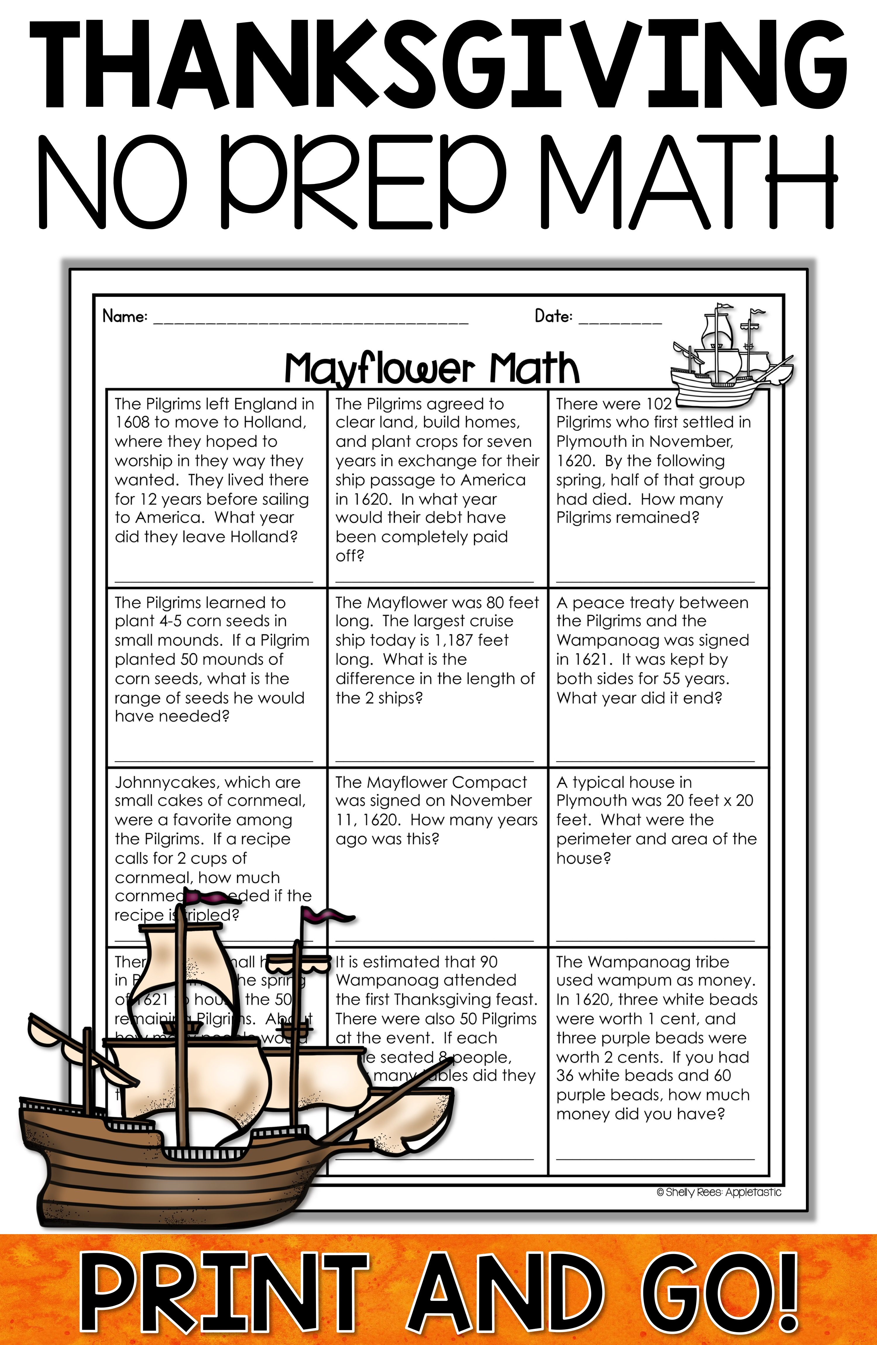 Thanksgiving Reading Activities And Thanksgiving Math Activities Are Fun For Kids In 3rd 4th A Thanksgiving Math Worksheets Thanksgiving Math Math Worksheets [ 4599 x 2998 Pixel ]