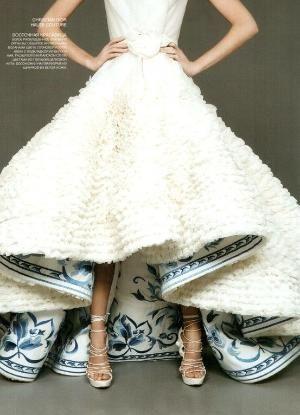 Dior Haute Couture by Anastácia Wo