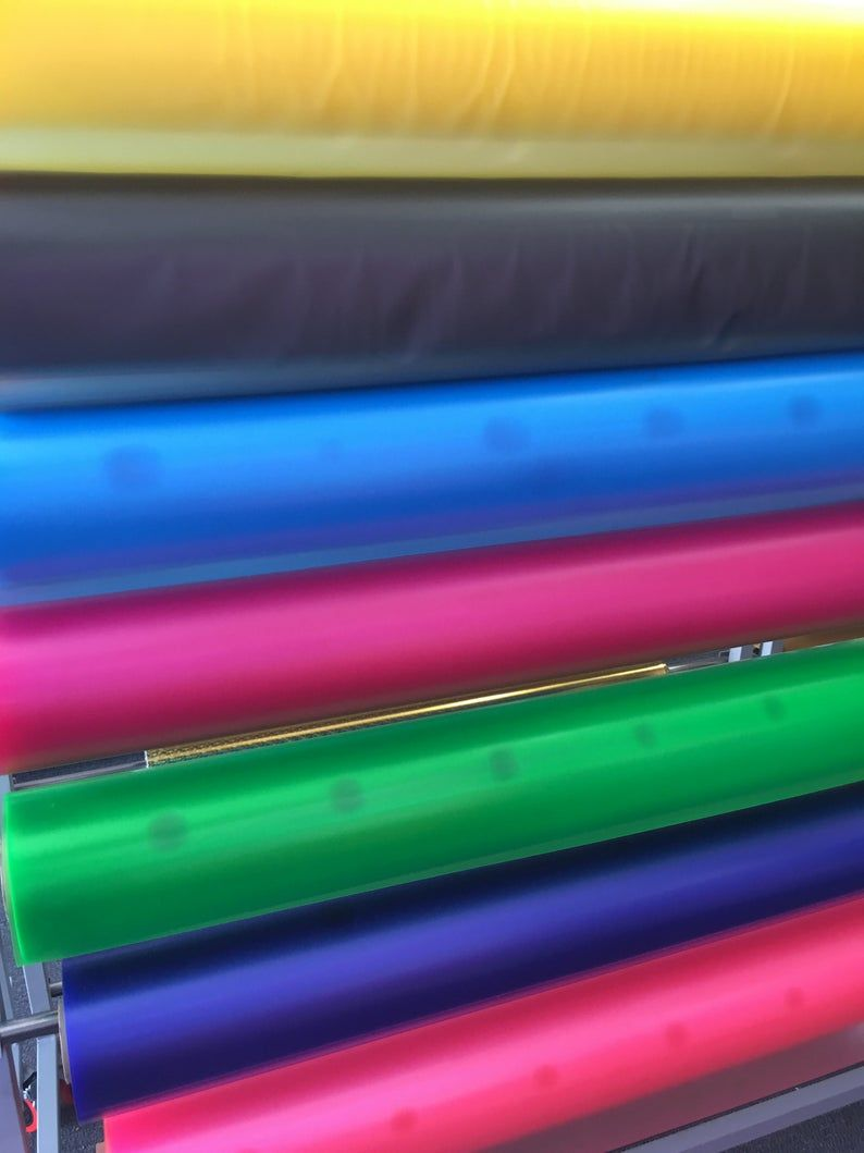 10 Gauge Tinted Transparent Plastic Vinyl Tinted 45 Inch Wide Etsy Choose Colors Tints Vinyl