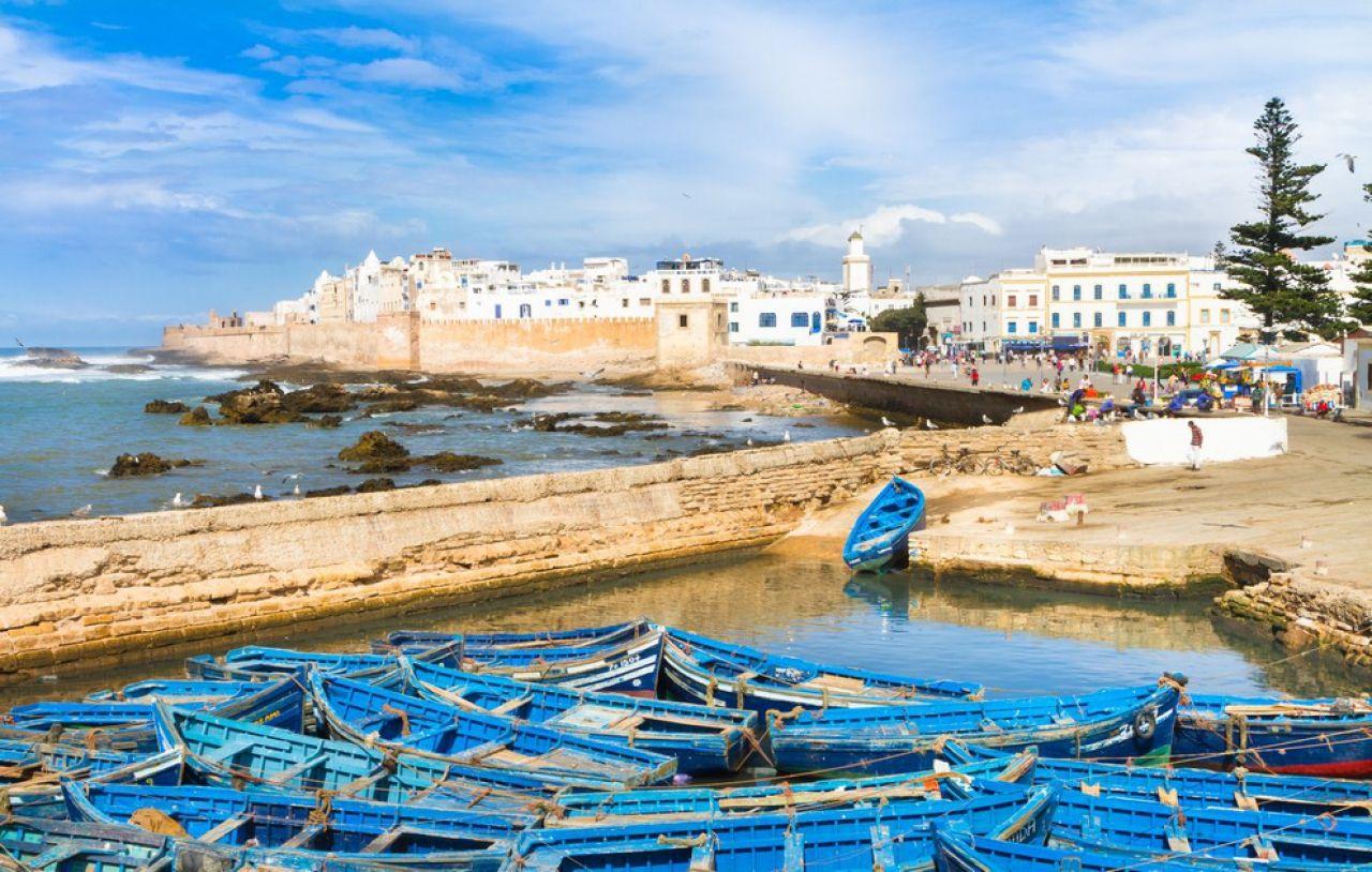 Essaouira - Située sur la côte atlantique, cette magnifique petite ...