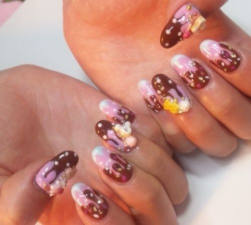 Nail Art: Ice Cream Nails!