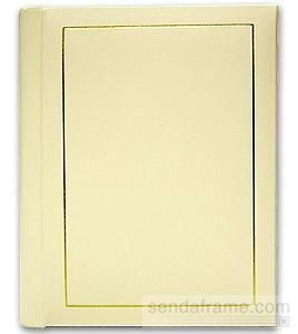 Professional Parade Whitegold Slip In Mat Photo Album For 20 5x7