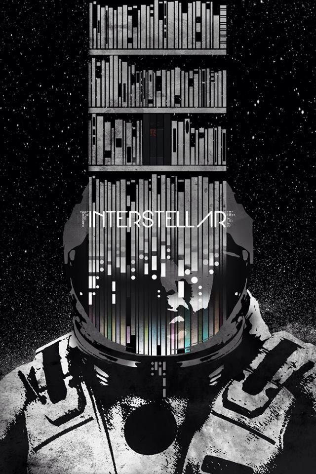 The Bookcase Of Interstellar Interestelar Posteres De Filmes