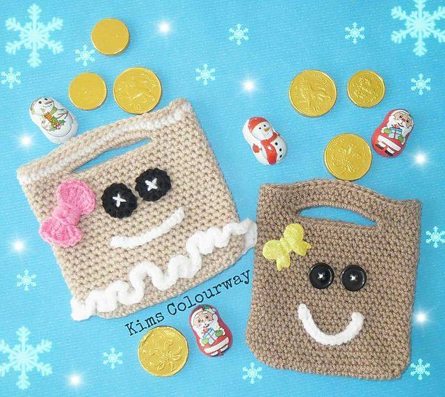 Need a quick Christmas gift bag or a stocking stuffer for someone special?