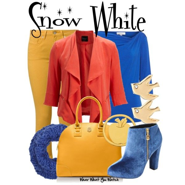 """Snow White"" by kerogenki on Polyvore"