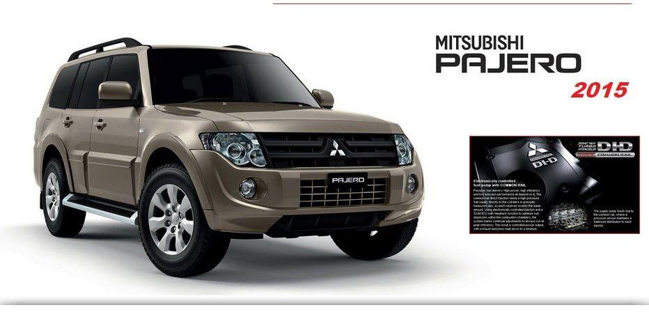 MITSUBISHI PAJERO 2015 REPAIR SERVICE MANUAL Mitsubishi