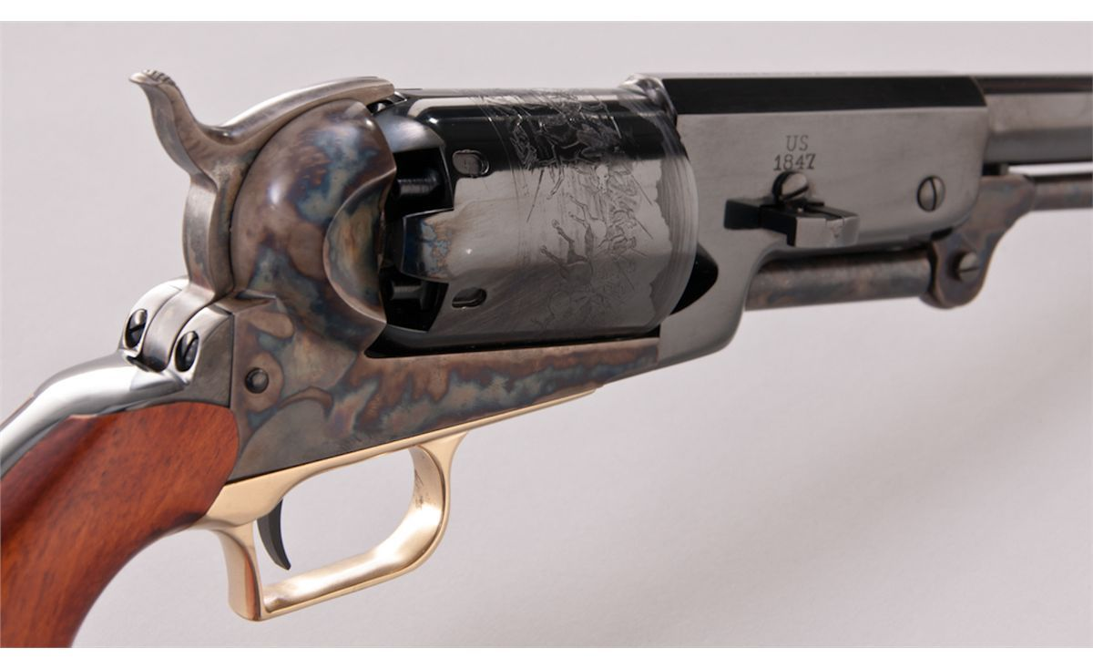 1847 Colt Walker Revolver   Bang 4 (1397 pins)   Hand guns