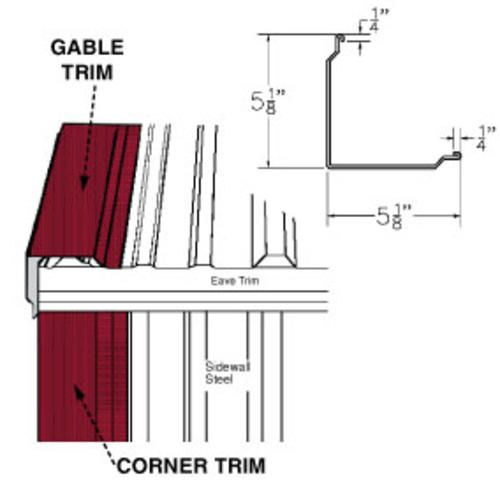 12 Corner And Gable Trim At Menards Gable Trim Post Frame Building Trim