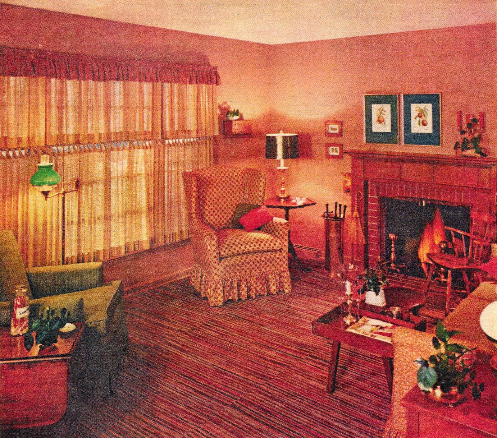 American Home Decorators: Retro Renovate Your Living Room Into The Mid Century