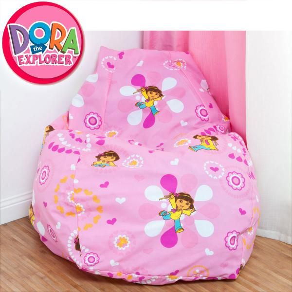 Phenomenal Dora The Explorer Bean Bag Cover Baby Toddler Kids Gamerscity Chair Design For Home Gamerscityorg