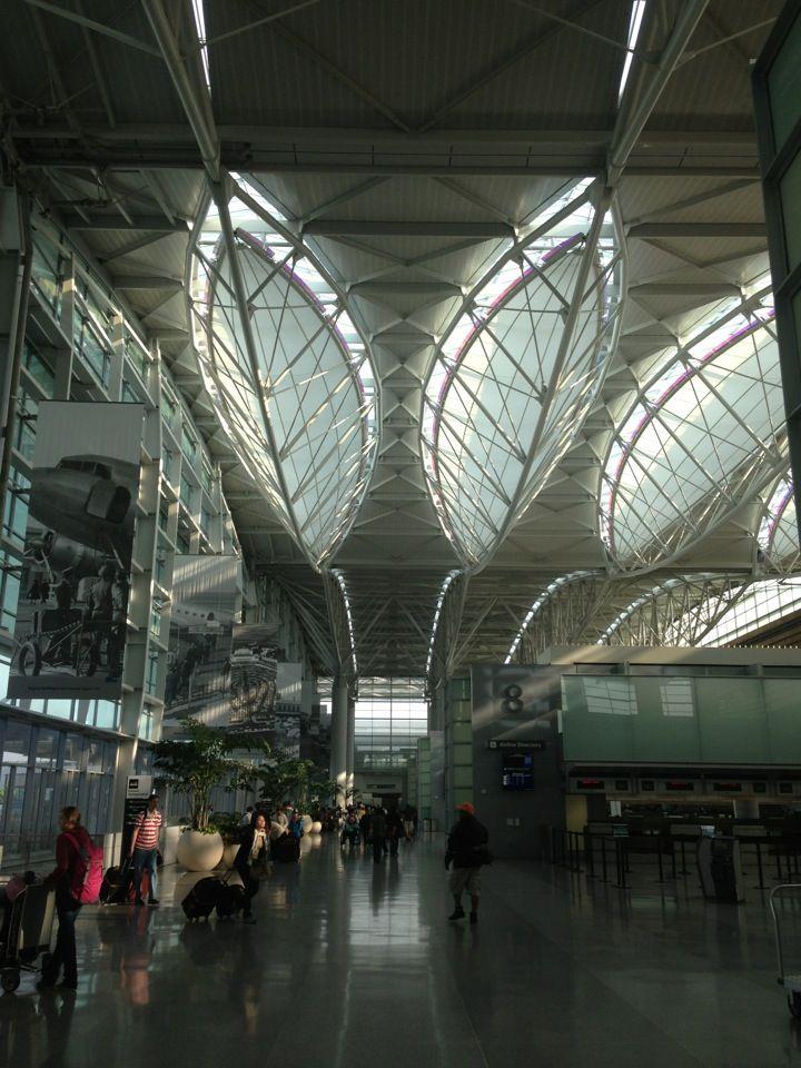 San Francisco International Airport Sfo Arhitektura Krysha Mesta