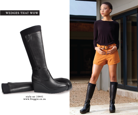 Froggie shoes   wedge boots   Winter
