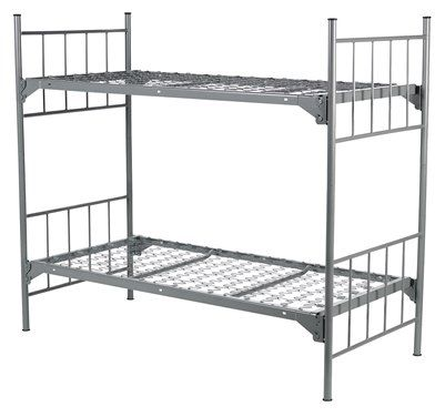 Military Style Bunk Bed Army Green Theme Bedroom Bunk Beds