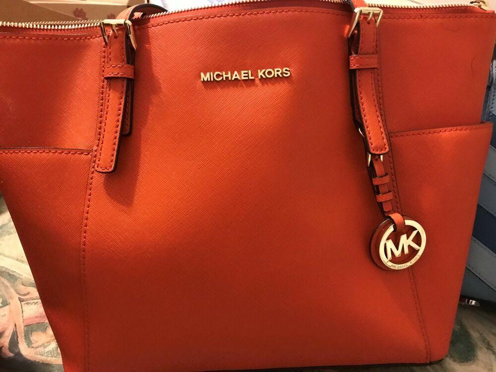 384b890ca7 womens leather handbags purses michael kors Orange #fashion #clothing  #shoes #accessories #womensbagshandbags (ebay link)